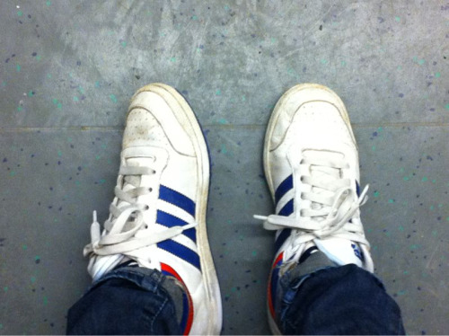 yum. sneakers.