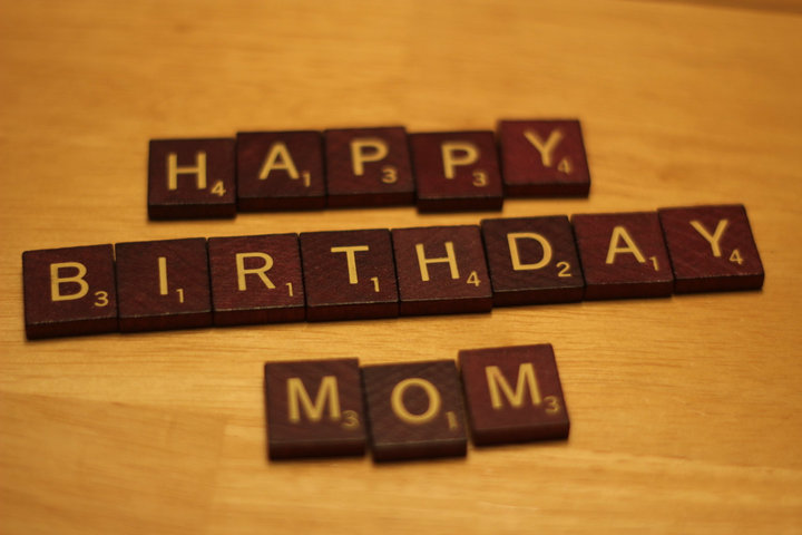 to the world's best mom.
