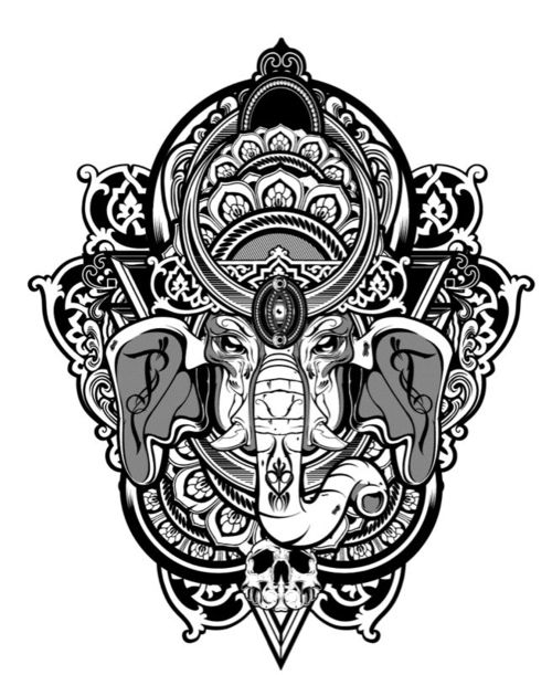Reposting this dopest Ganesha.