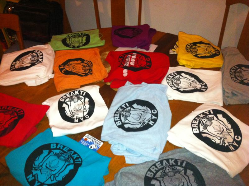 Learned to screenprint shirts!!!  So fun!! Thanks Dave!