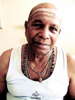 currently renewed inspiration from…  Sri K. Pattabhi Jois