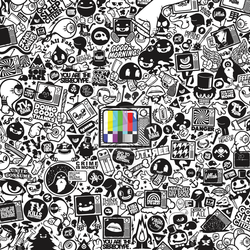 bassheavy :      TV Kills Everything   by  j3concepts