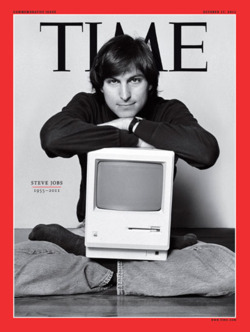 corcoran310 :      TIME Magazine Cover: Steve Jobs 1955-2011.