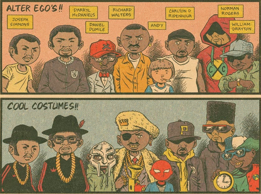 upnorthtrips :       THE HIP HOP/COMIC BOOK CONNECTION