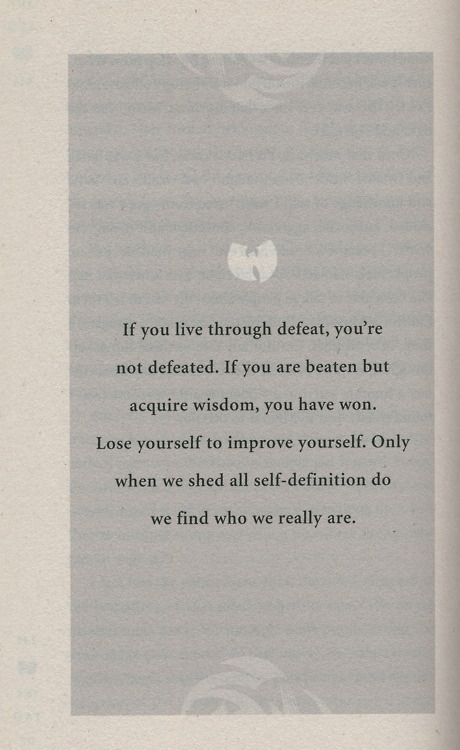 the tao of wu.     rza