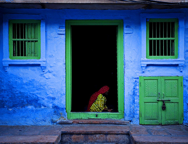 India Color 5 by Adam Rose