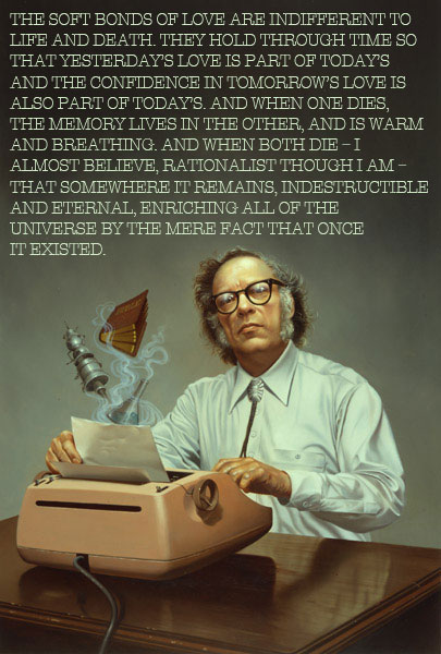 explore-blog :      Isaac Asimov  on  religion vs. humanism and the spirituality of science .