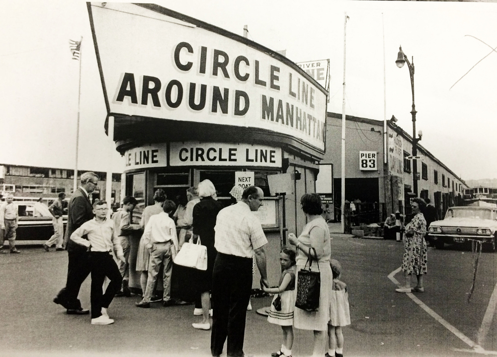 1964: People buy tickets at the Circle Line booth on June 10, 1964.
