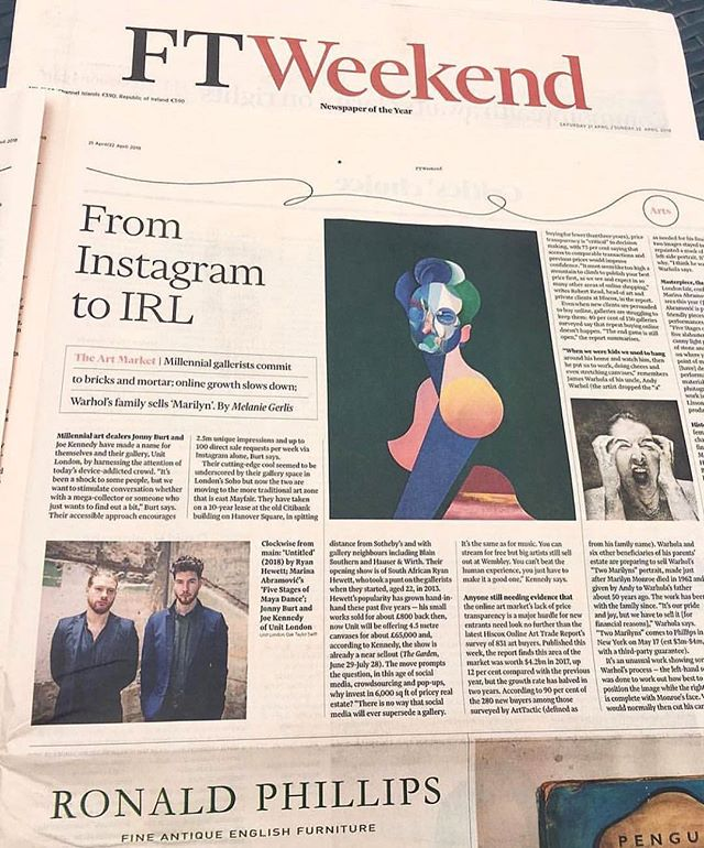 Congrats to the @theunitlondon team.  What a journey 🚀 🚀🚀.. @financialtimes @theunitlondon #thegarden