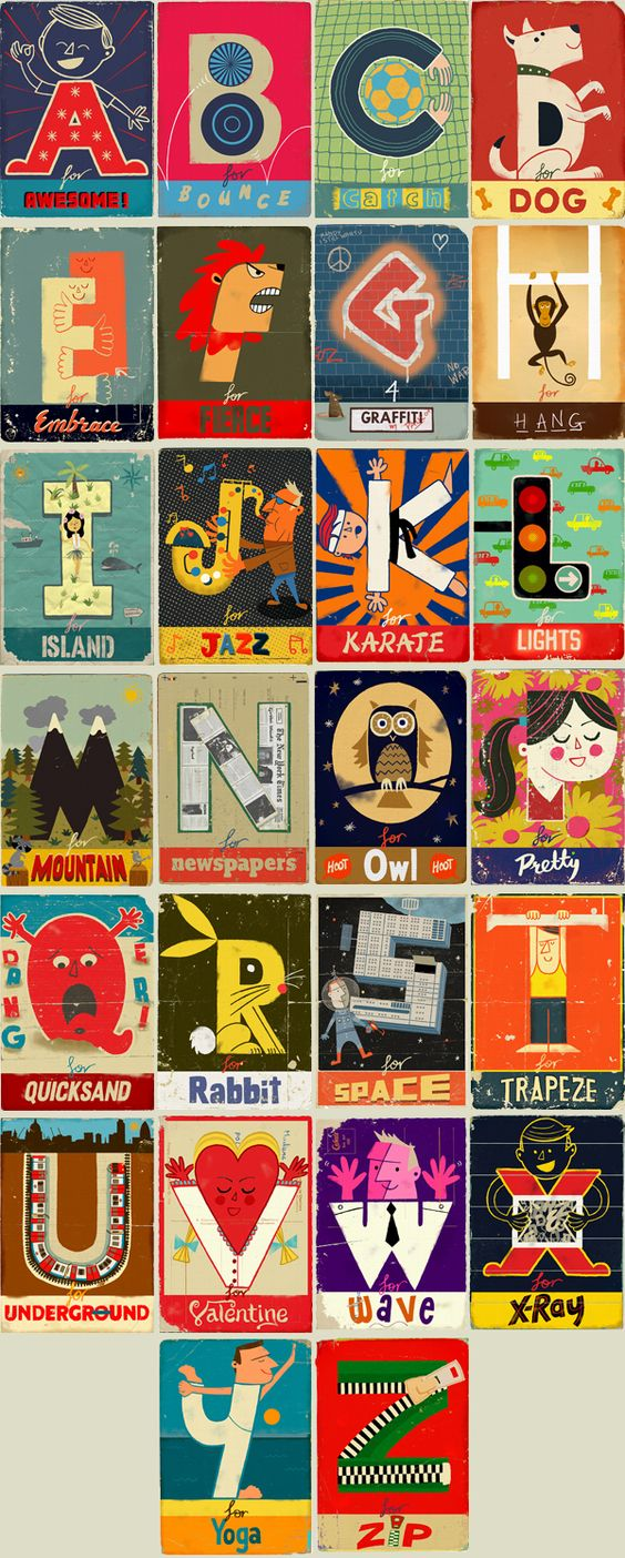 Paul Thurlby's work is so cool, I do thing fake vintage when well done don't really age that much.
