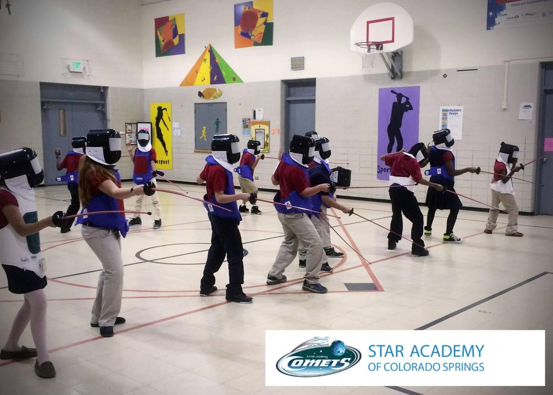 pe program u2014 fencing in the schools