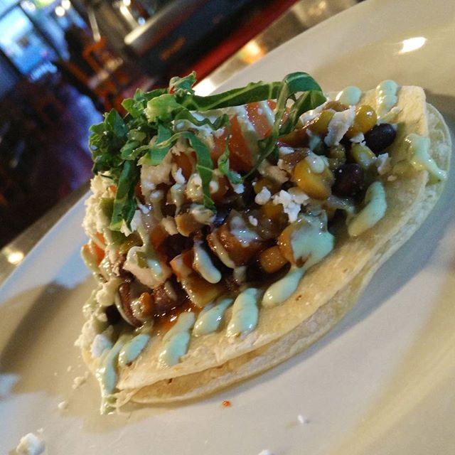 It's #TacoTuesday! Loads of #veggie and #vegan options too including our Black & Yellow. Come by tonight!