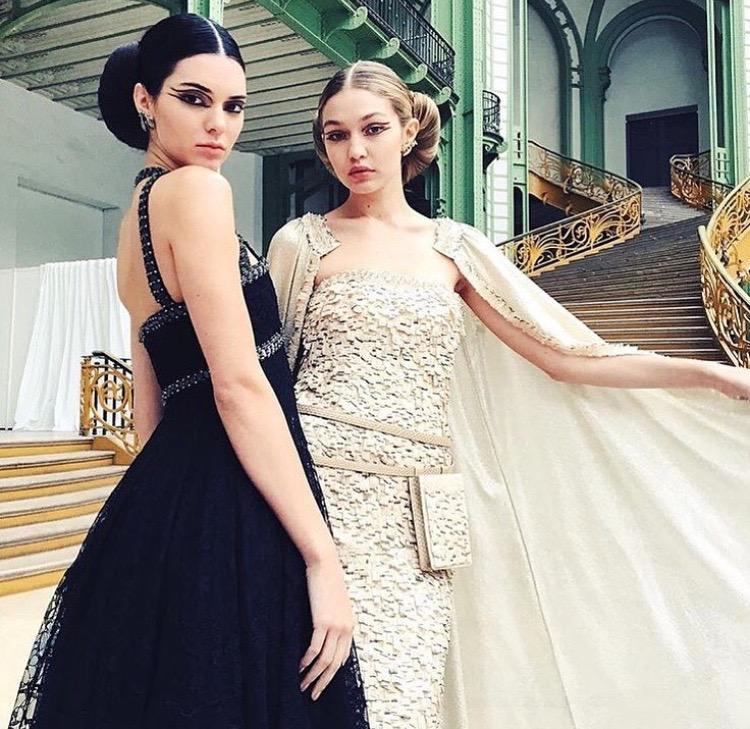Kendal Jenner and Gigi Hadid