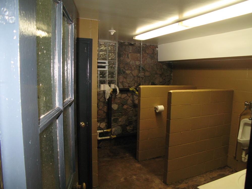 Men's Stall - After 1st Renovation