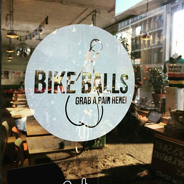 #Repost from @1ookmumnohands -  Grab a pair of @bikeballs at 49 Old St. @1ookmumnohandsworkshop. Scrotally awesome LED lights that swing from your saddle, backpack, or whether they can drop. P.S. We have an online and ship worldwide 🍒 #bikeballs #lookmumnohands #lmnh #balls #bike #bikelights #workshop #oldstreet #london #bicycleworkshop