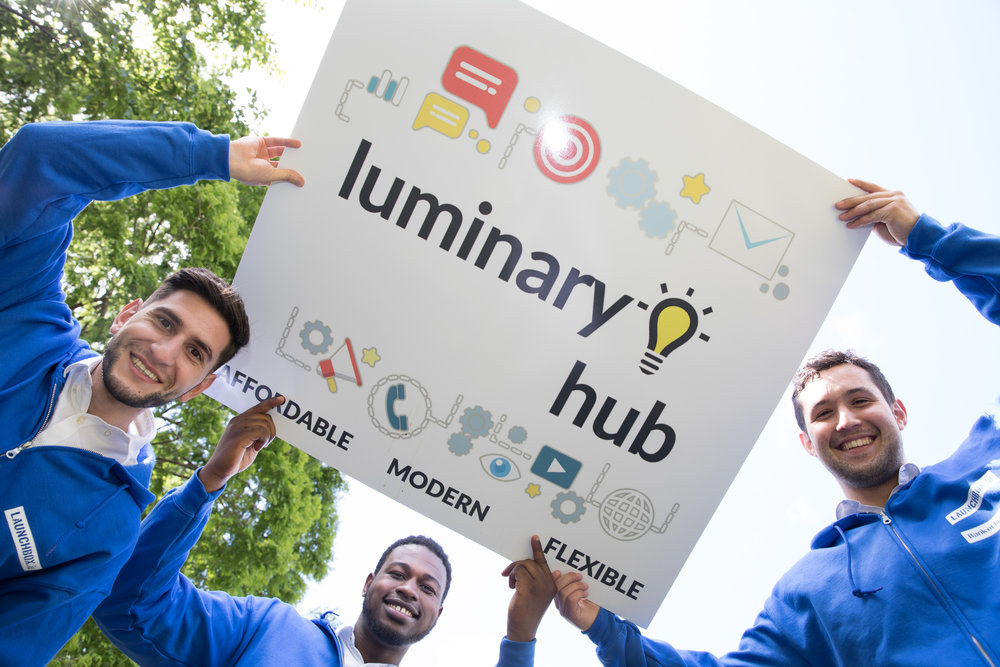 LUMINARY HUB   LuminaryHub is a platform that allows SME's to outsource work at affordable prices. They have built a network of the best students providing them with flexible, well payed employment in the fields they are studying in. LuminaryHub currently creates websites, graphics and multi media, going forward they will further branch into STEM, Law and Business and languages.   Website  /  Twitter  /  Email