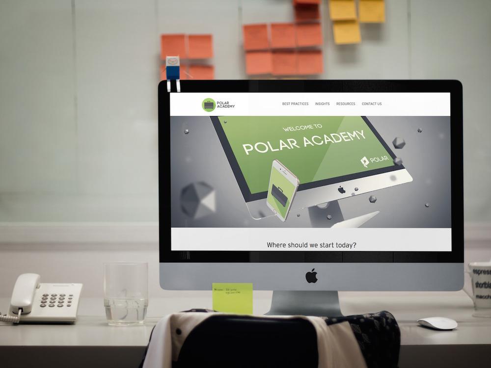 Polar Academy Native Ads Platform