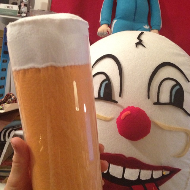 Eggmund's Beer Glass