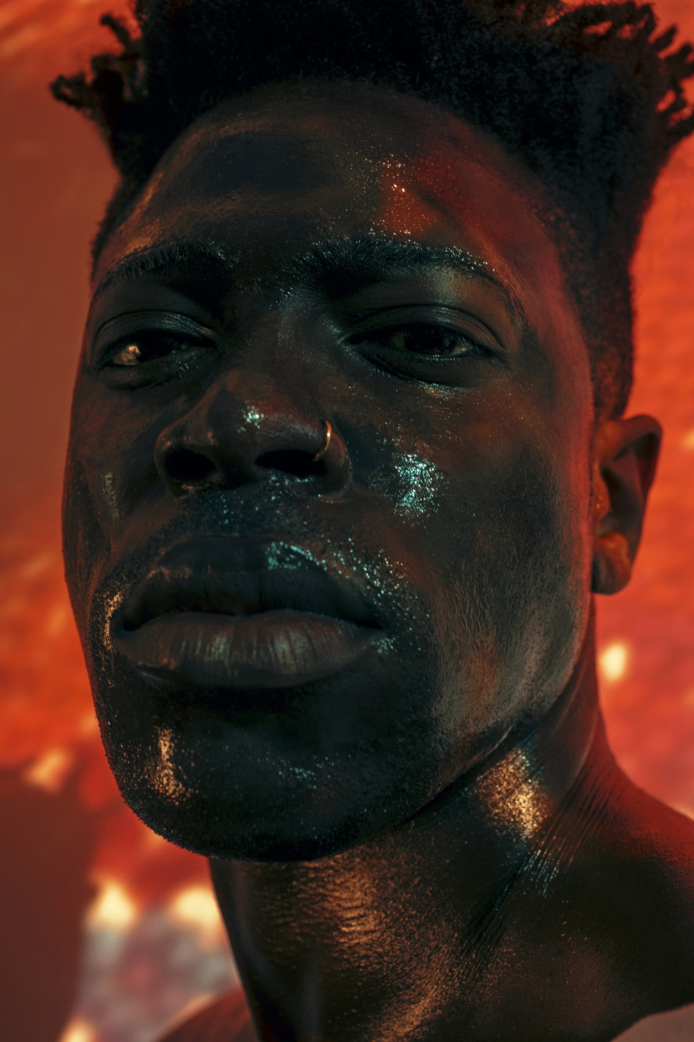 Moses Sumney delves into lovelessness on his debut album, 'Aromanticism' |gal-dem: - An in-depth feature on the singer as he releases 'Aromanticism'