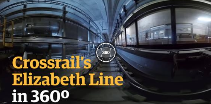 A 360 view of Crossrail's Elizabeth Line | Guardian