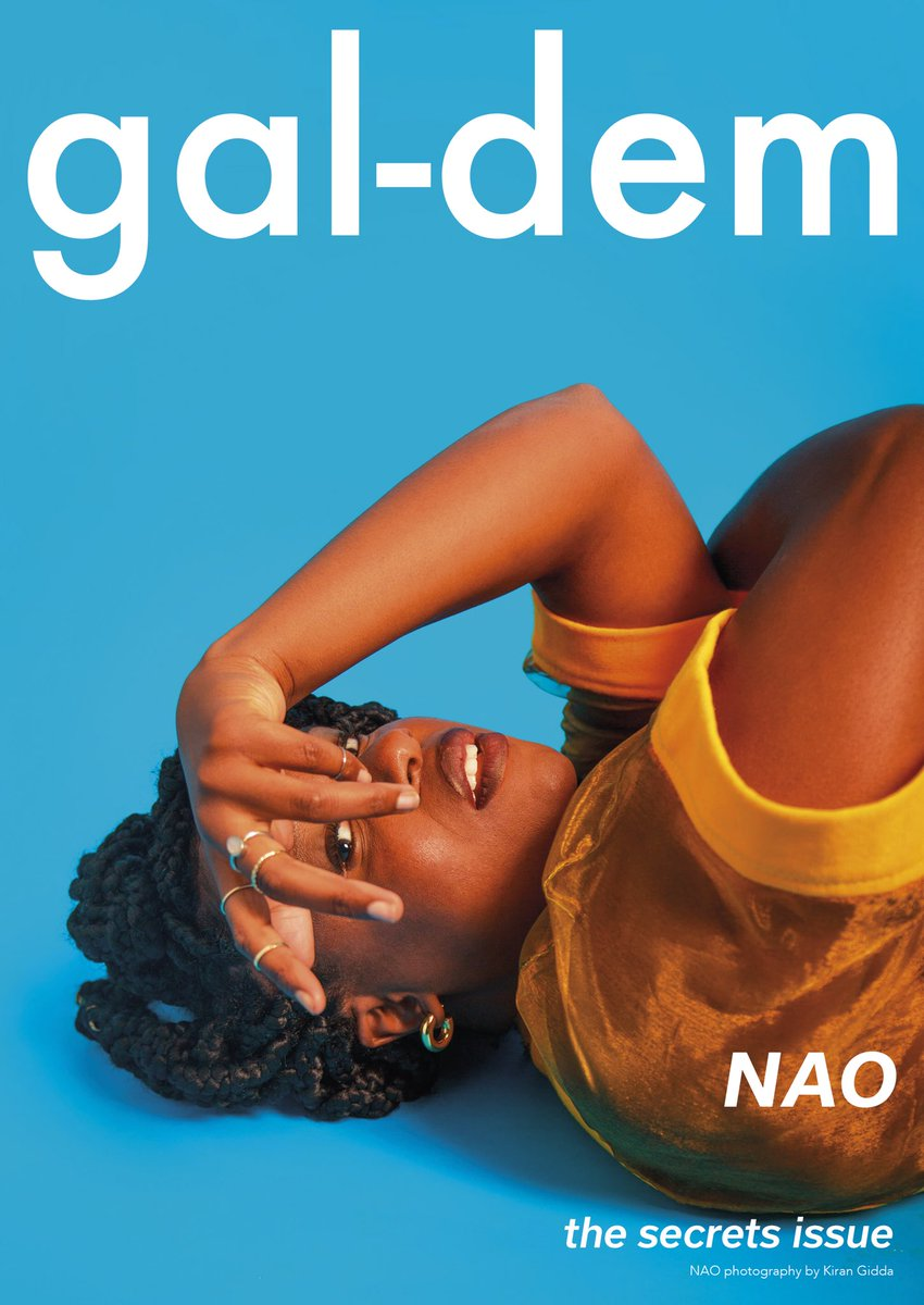'secrets' print issue 003 | gal-dem - The third print issue of the magazine for women and non-binary people of colour