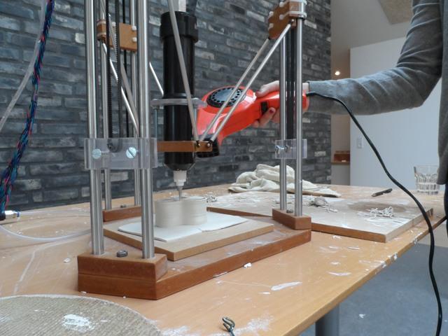 3D Ceramic Printing at the International Ceramic Research Centre, Denmark