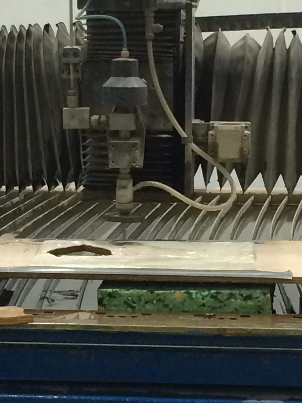 Water Jet Cutting