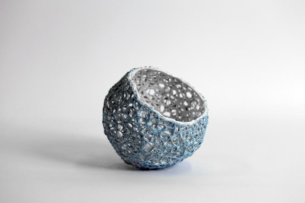 'Lace Pod- Turquoise'