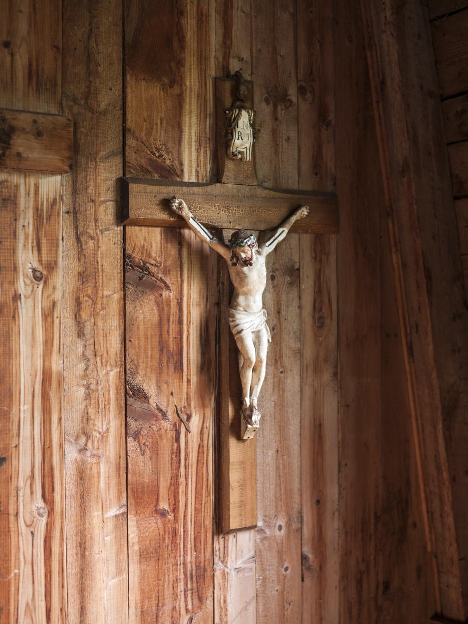 Crucifix, St-Cyprien, 2014