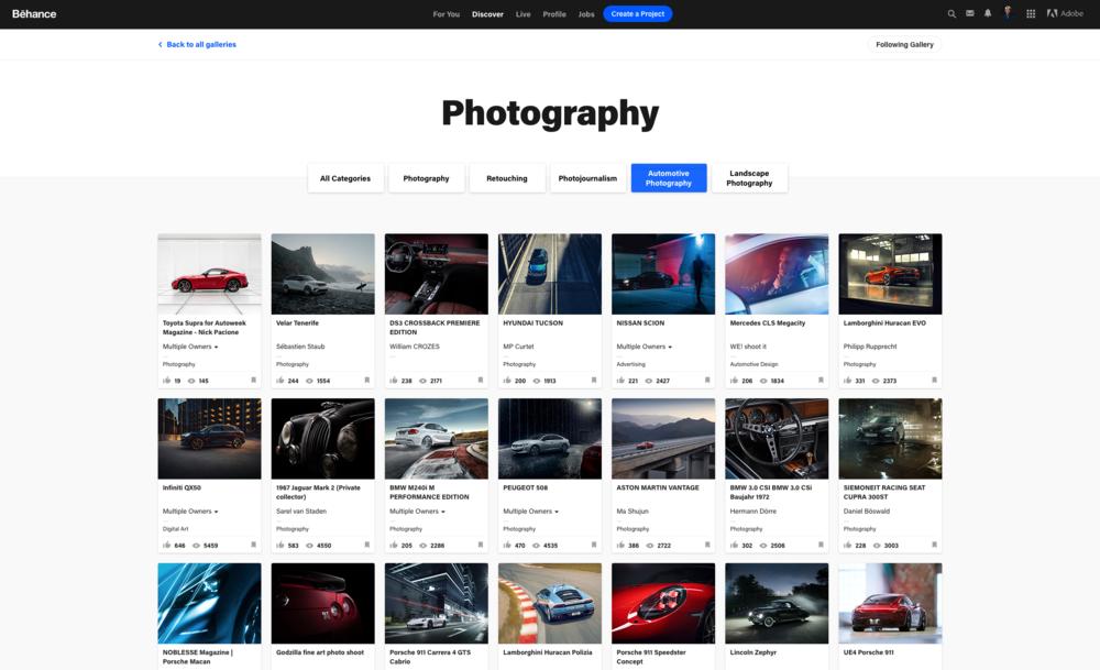 Best Automotive Photographer