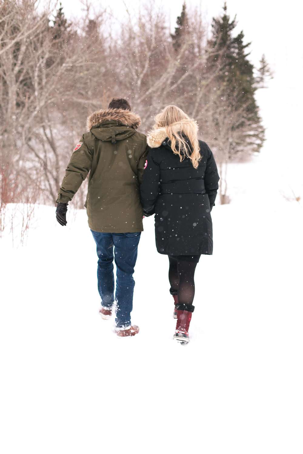 Halifax Winter Engagement Photography