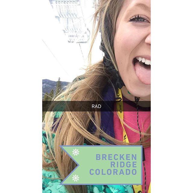 aaaand that's a wrap. End of season came way too fast ❄️ #breckenridge #epicmix #endofseasonblues #tillnextseason