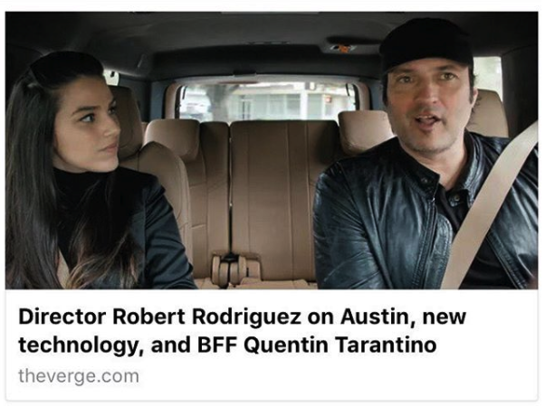 The Verge - Kermani interviews Robert Rodriguez for The Verge