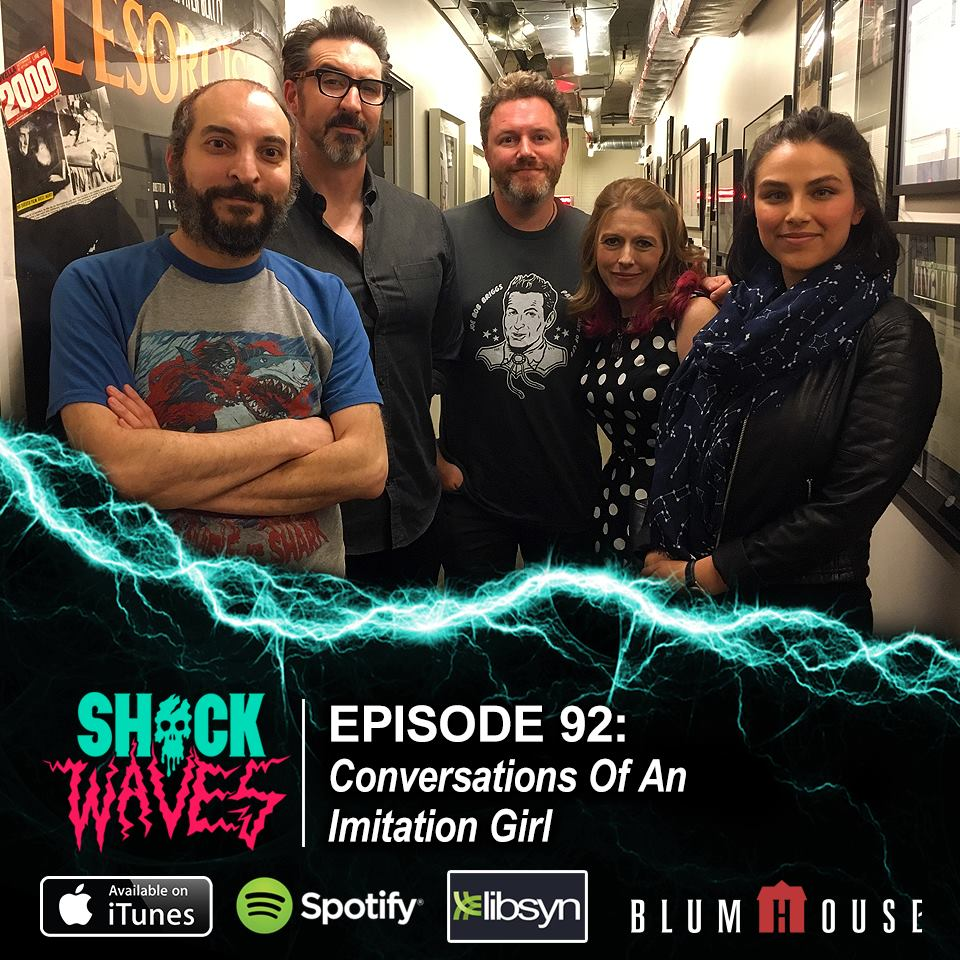 SHOCKWAVES - Kermani chats with the Shockwaves crew about filmmaking and her new film, Imitation Girl.