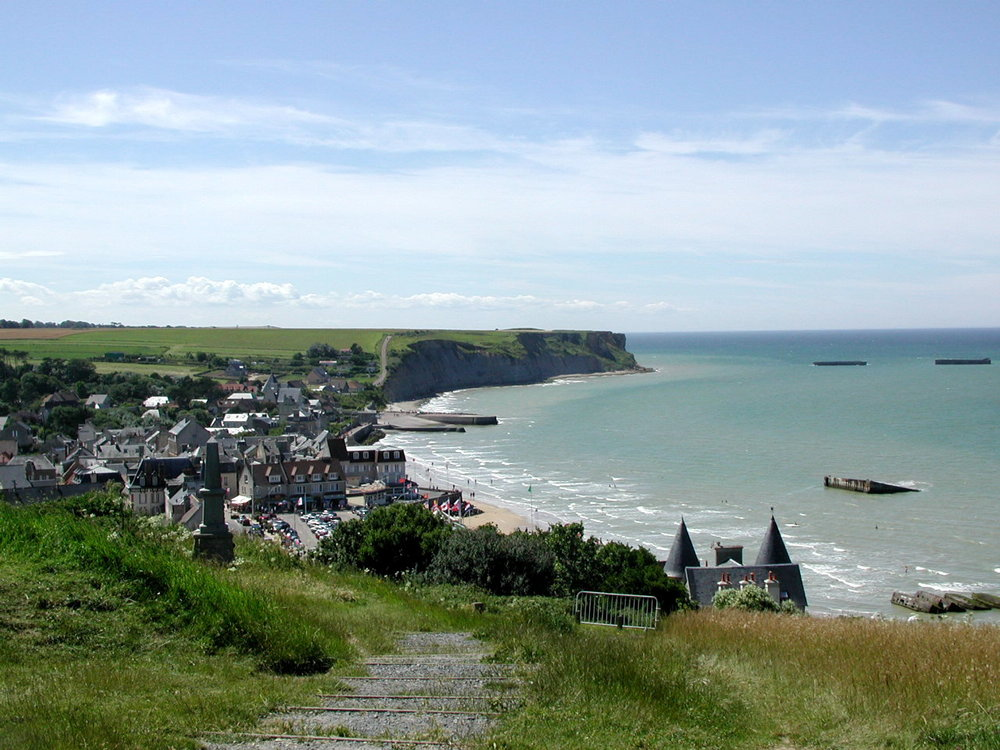 July 13 Arromanches Beach.jpg