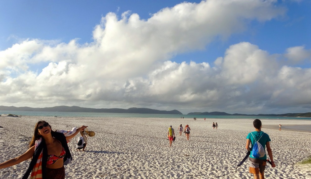 Whitsunday Islands, photo by Eleanor Deacon