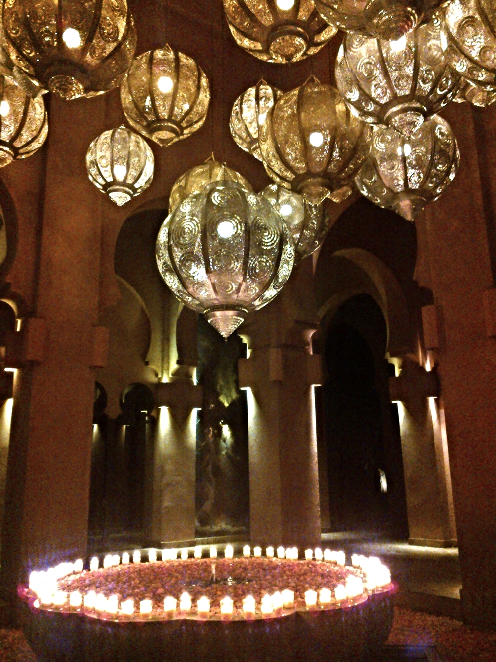 Entering the Amanjena, Marrakech