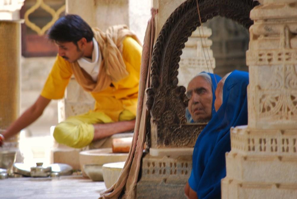 in the jain temple.JPG