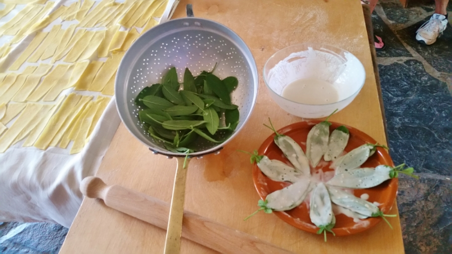 Foodie blog Sage leaves in process 20150703_124533.jpg