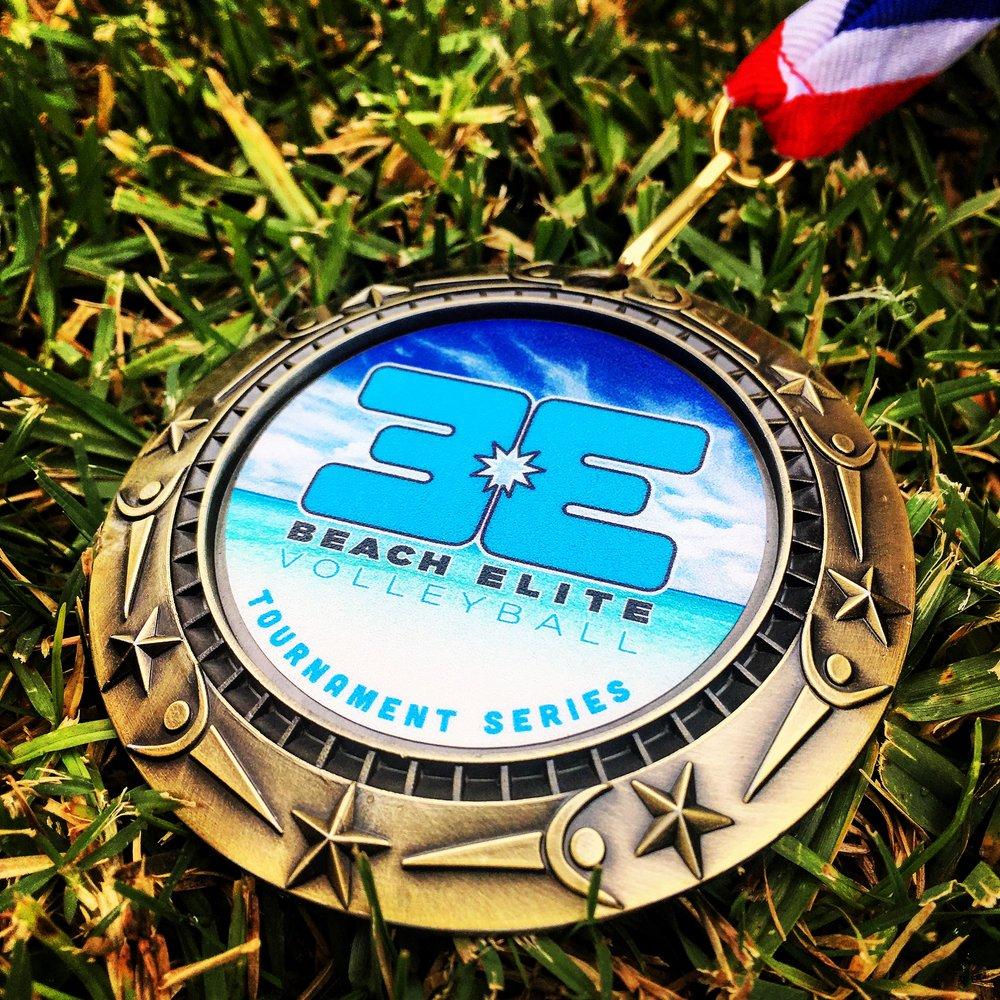 beach elite gold medal