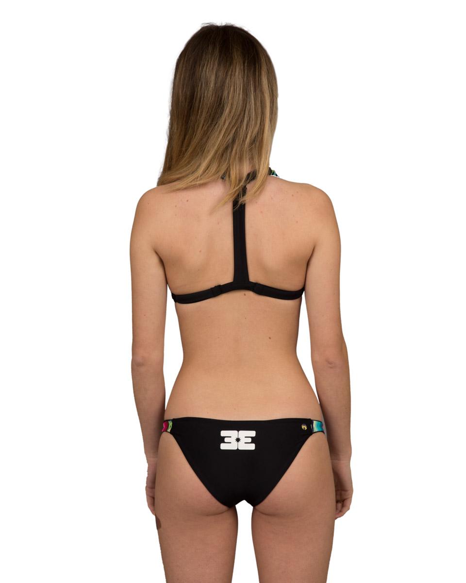 f83f3509561 T-Back Reversible Bikini Top - Black/Mexican Blanket (Sorrento) — Beach  Elite