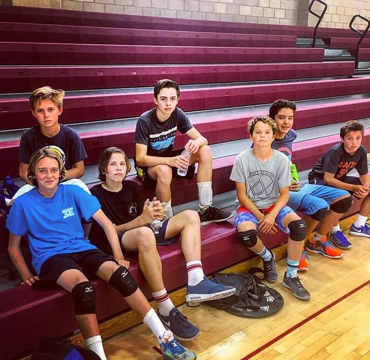 boys indoor team 2017 Beach Elite