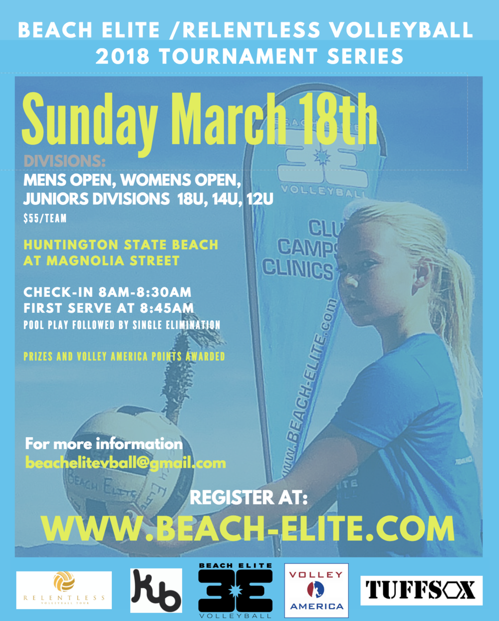 beach elite tournament series