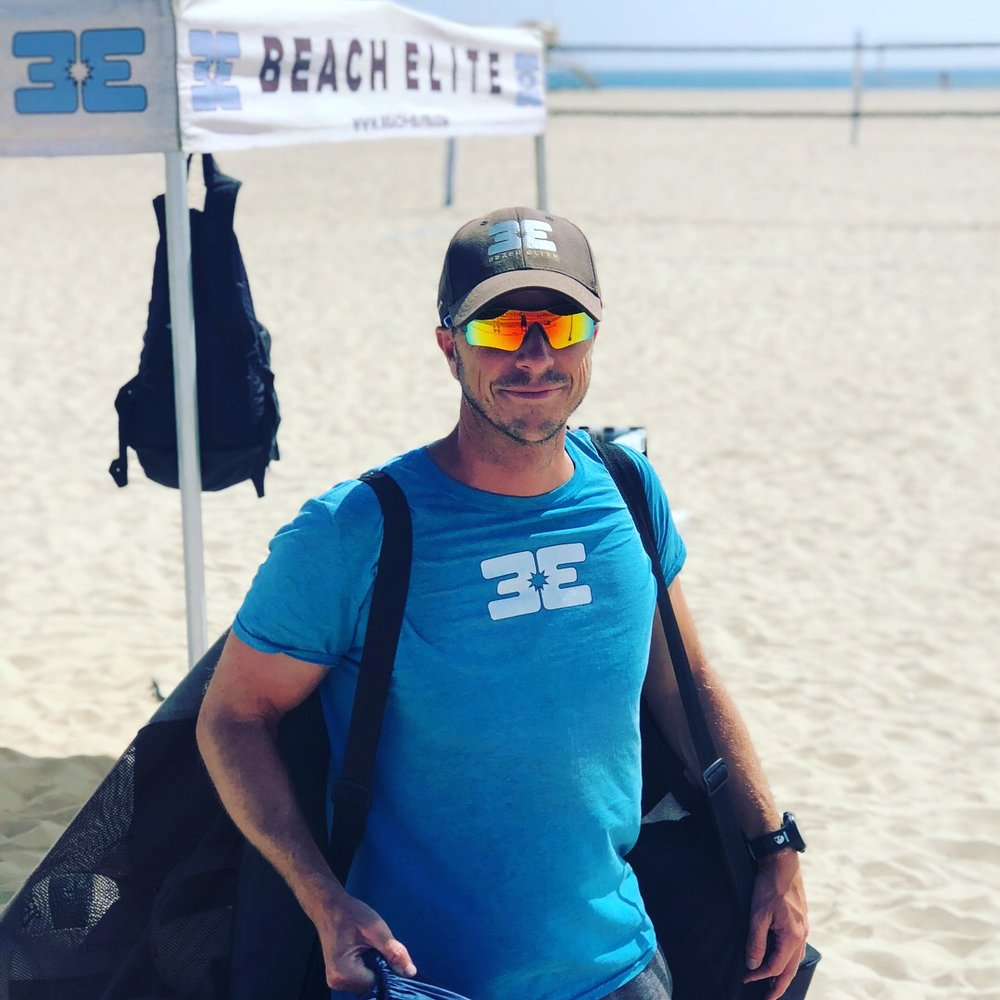 Coach Rick Reeve, Beach Elite Founder