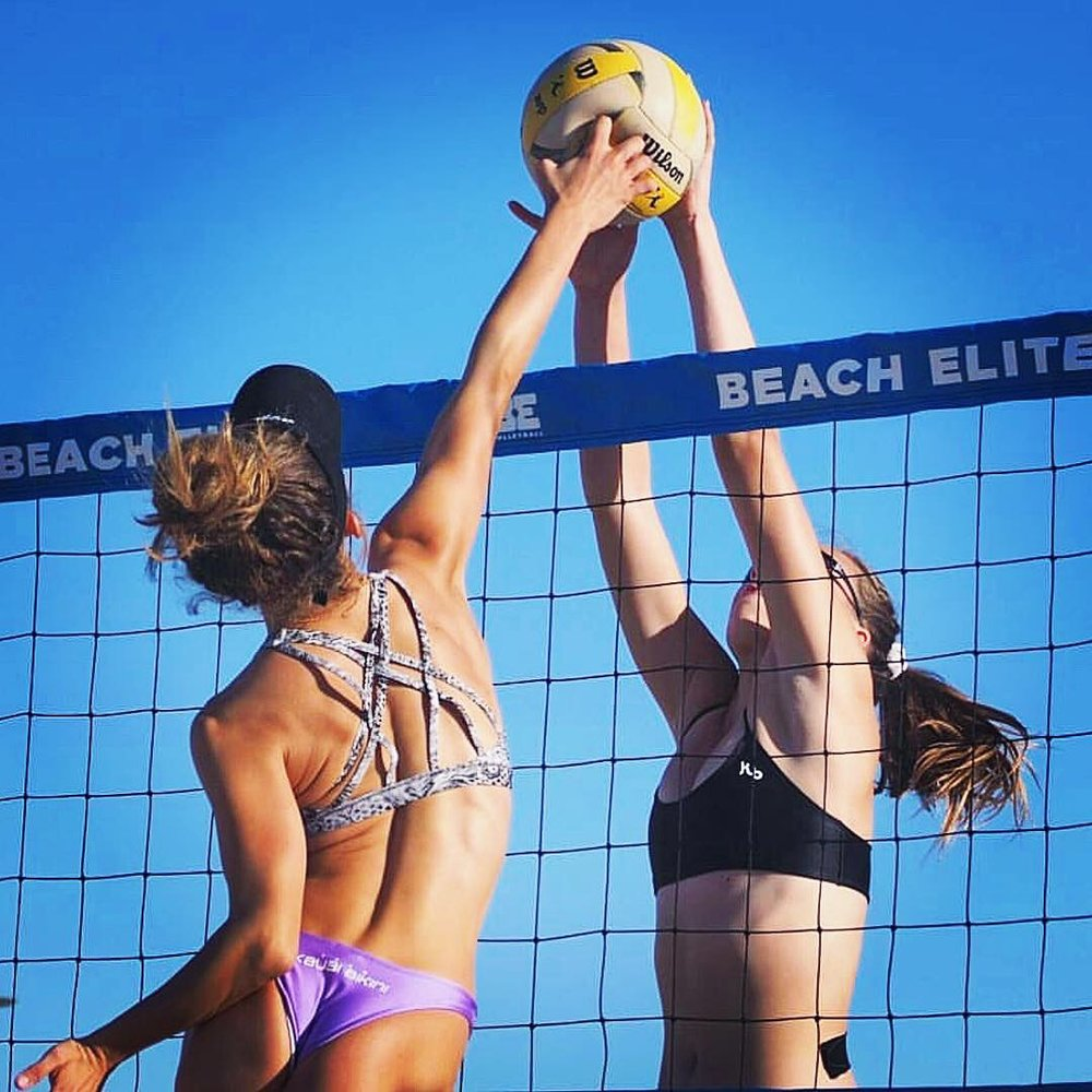 NEXT LEVEL BEACH VOLLEYBALL CAMPS - Address: Huntington State Beach (Magnolia and Pacific Coast Highway)Days: Tuesdays, Wednesdays, ThursdaysTime: 4pm-6:30pm Cost: $120/weekRegister: www.Beach-Elite.comDescription: Beach volleyball camps by the most fun and professional volleyball club around! Boys and girls ages 13 -18 only. Intermediate to advanced club players only. Players separated by skill level. All campers received a Beach Elite shirt, visor and backpack. Dates: Week #1: June 18 - 20, Week #2: June 25 - 27, Week #3: July 2-3 (4 days only) use promo code