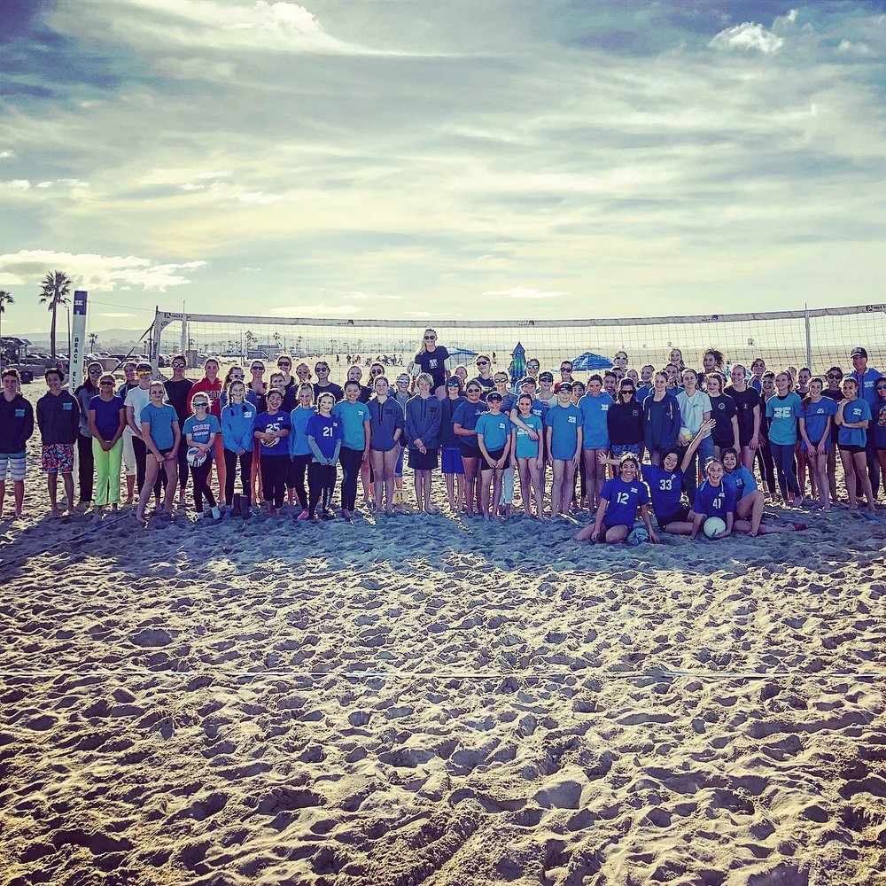 CORONA DEL MAR BEACH VOLLEYBALL CAMPS - Address: 3001 Ocean Blvd, Corona Del Mar, CA 92625Days: Monday-FridayTime: 9am-12pmCost: $195/weekRegister: www.CampNewport.com (codes: BEV200-BEV210)Description: Come learn the basics of beach volleyball with the fun and friendly coaches of Beach Elite! We're determined to improve your child's ability to bump, set, serve and hit. All campers received a Beach Elite shirt, visor and backpack. Optional swimming for last half hour of class. Dates: June 24-28, July 8-12, July 22-26, Aug 5-9, Aug 19-23, Aug 26-30