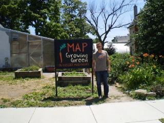 Walker Wells at MAP in Buffalo, NY.