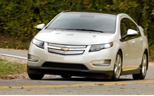 Last year's green car winner: the Chevy Volt