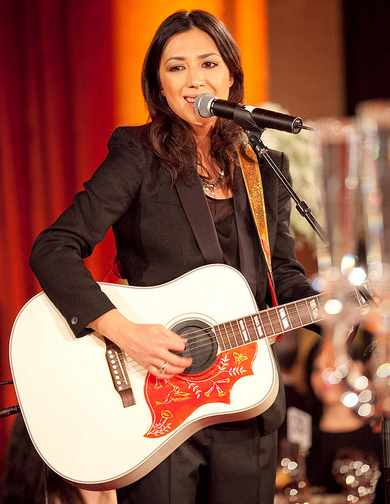 Michelle Branch performing at our Gorgeous & Green gala in SF.