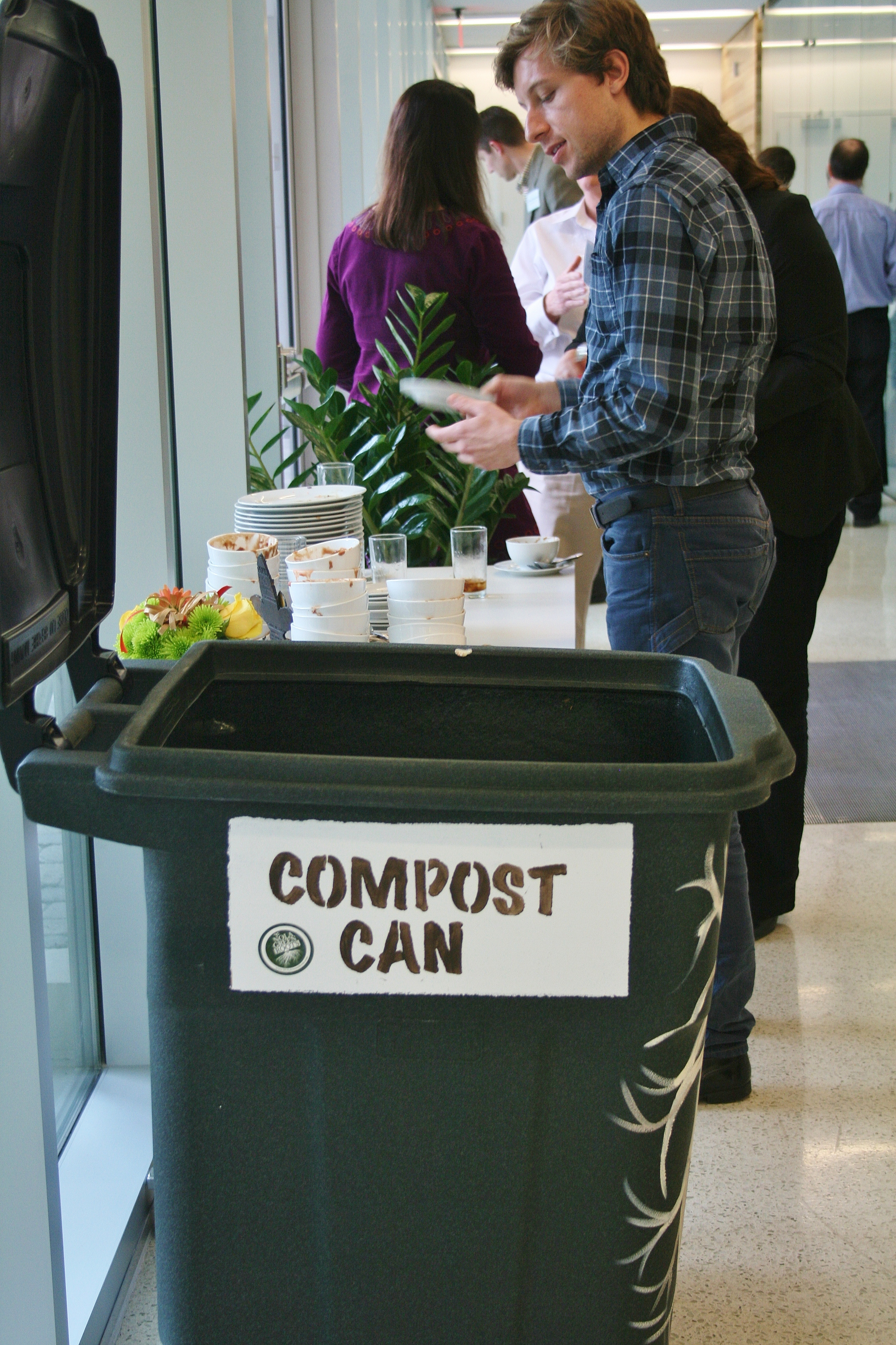 Doing our part for our conference on waste reduction.
